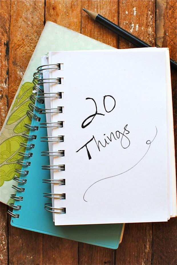 20 Things Pic