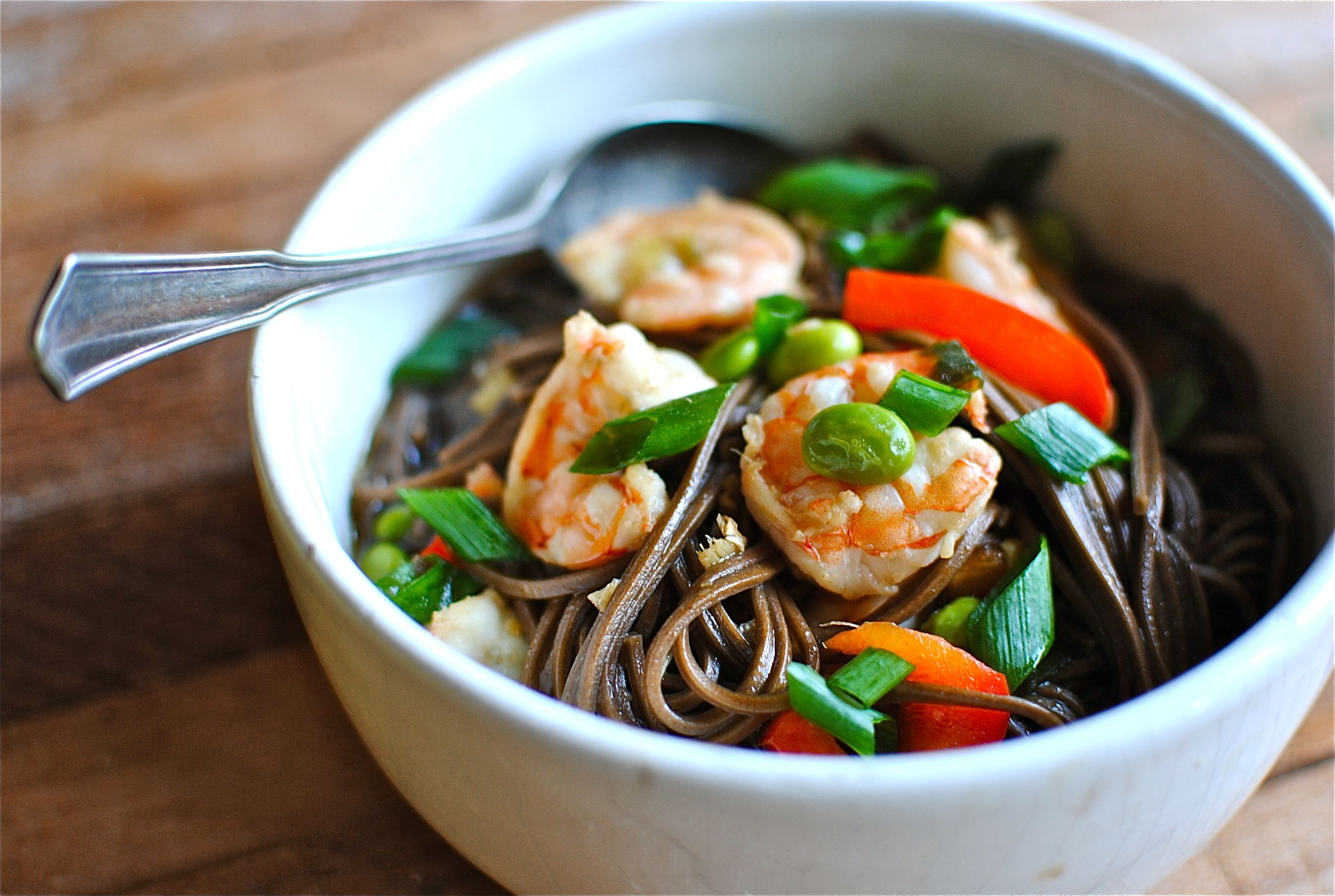 recipe: seafood soba soup [5]