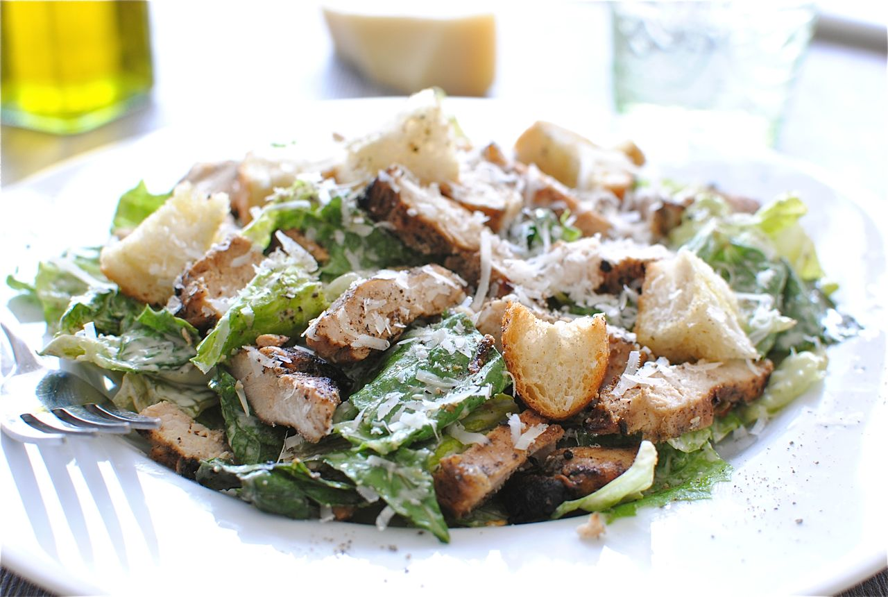 Recipe for salad Caesar classic with chicken - tasty and simple
