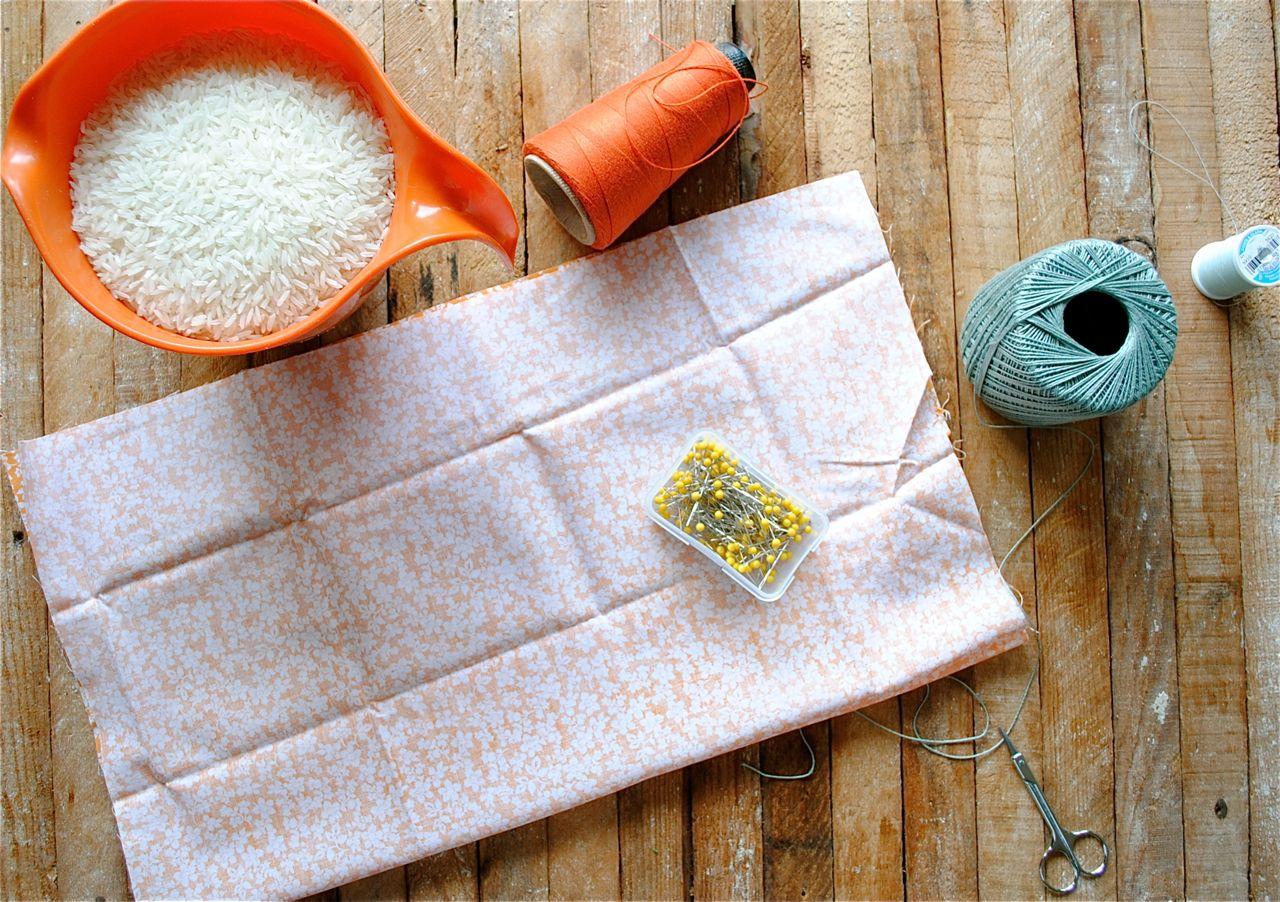 Diy Rice Sack Heating Pads Bev Cooks