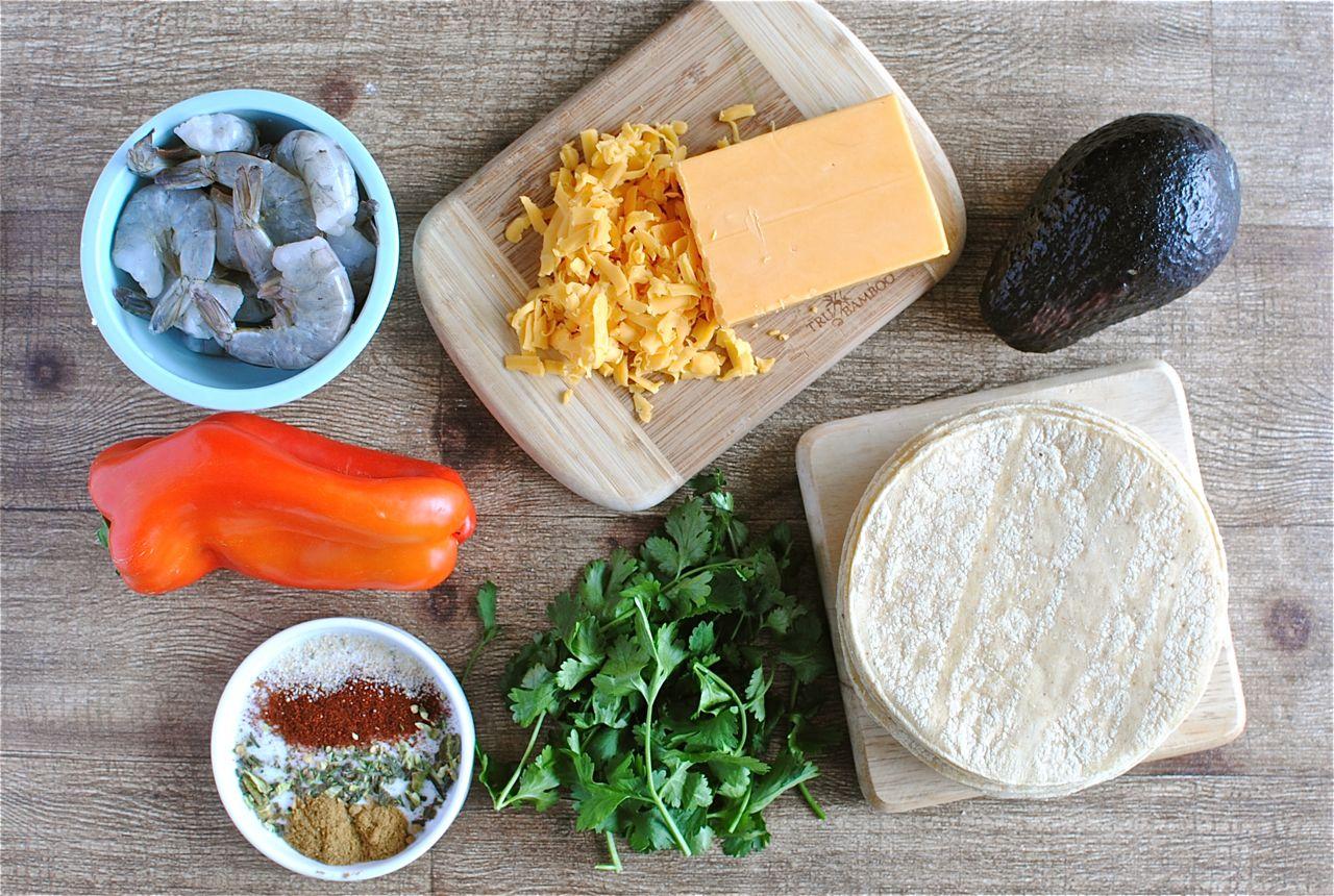 Simple Shrimp and Guacamole Tostadas - Bev Cooks