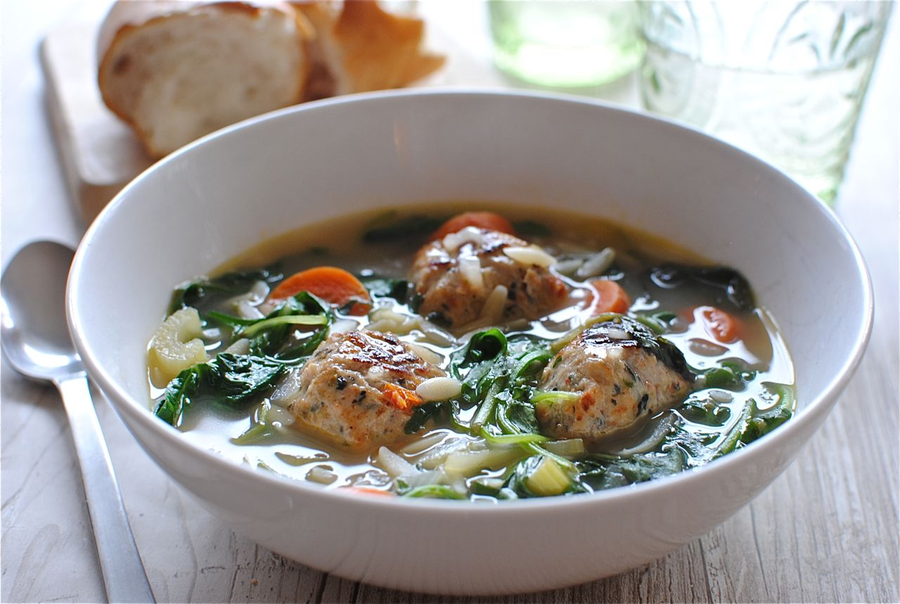 Weeknight Italian Wedding Soup | Bev Cooks