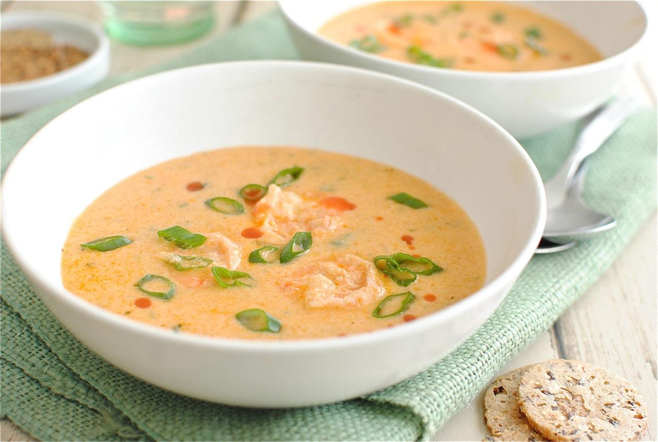 Cajun Shrimp Bisque | Bev Cooks