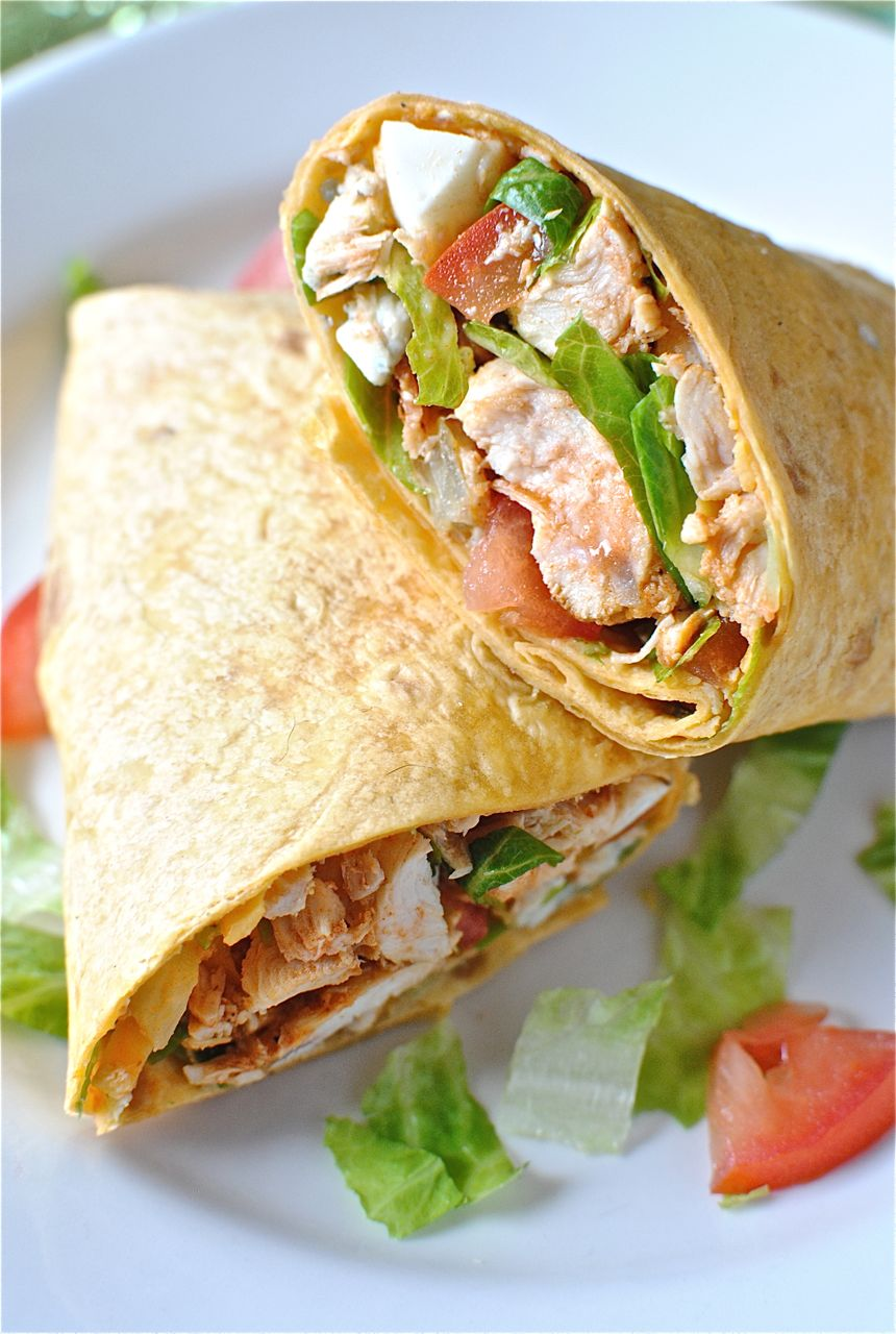 Buffalo Chicken Wrap Recipes — Dishmaps