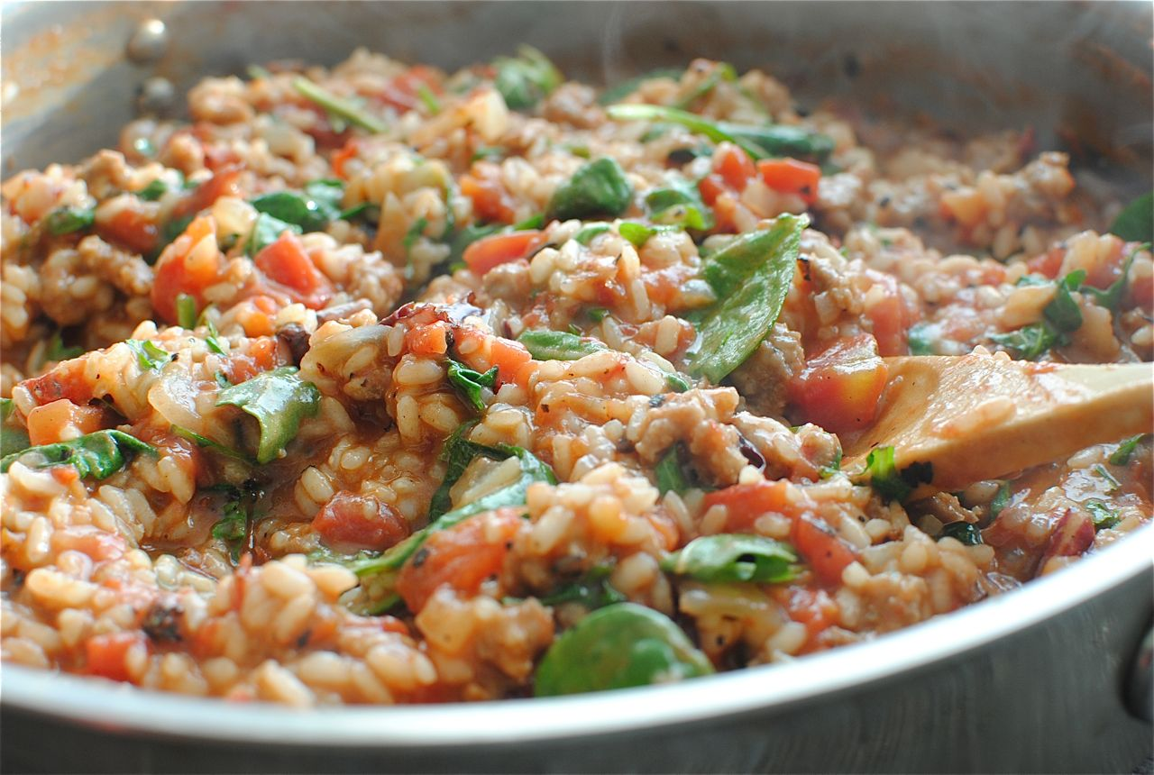 Tomato And Sausage Risotto Recipes — Dishmaps