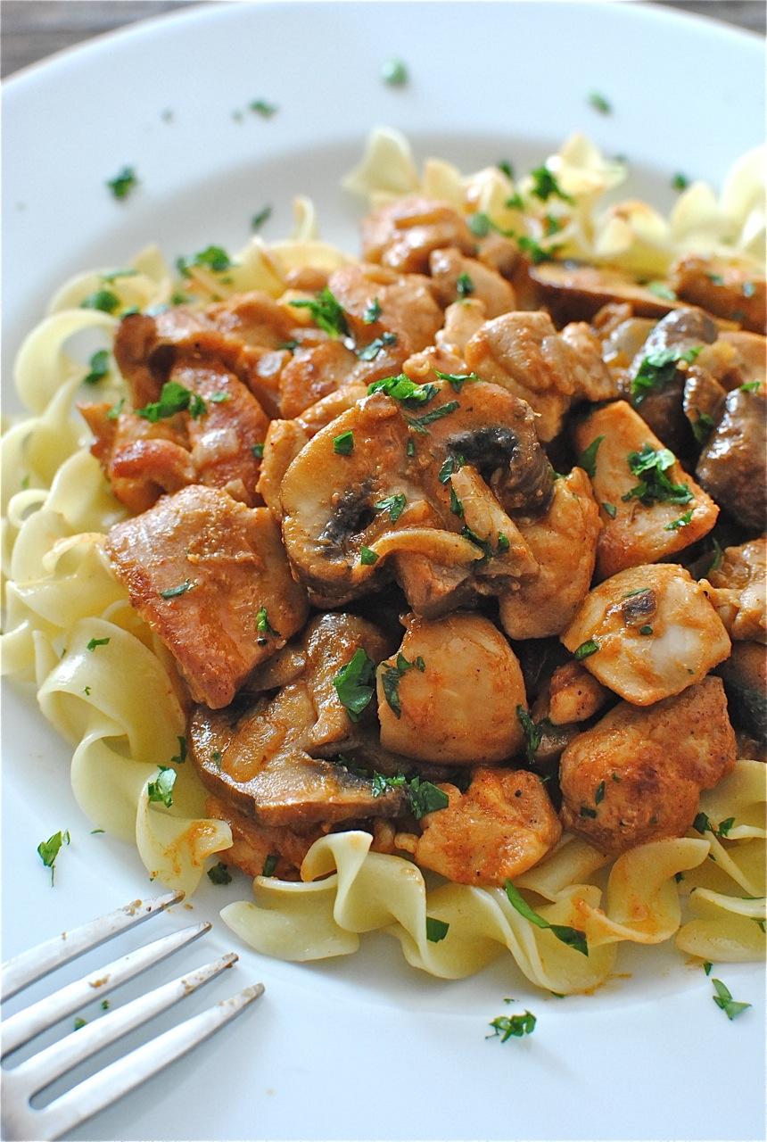 Chicken Stroganoff Bev Cooks