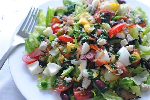 Рецепты легких овощных салатов с фото
