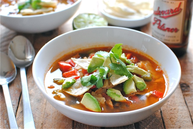The Pioneer Womans Chicken Tortilla Soup Bev Cooks
