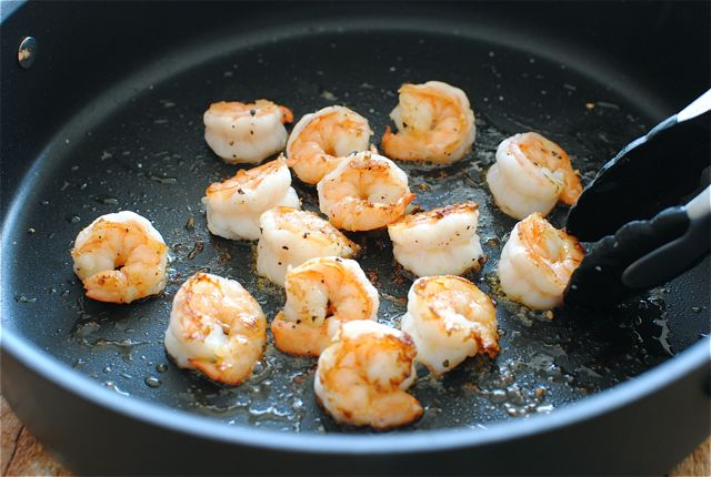 Shrimp and Cabbage Tacos with a Cilantro Yogurt Sauce | Bev Cooks