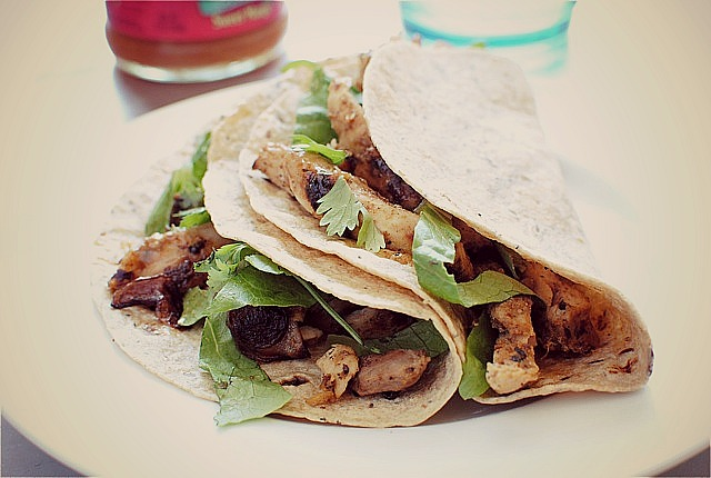 Simple Tandoori Chicken Tacos | Bev Cooks