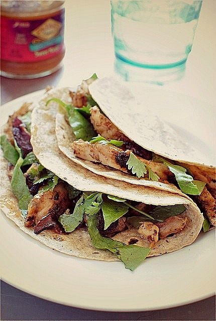 Simple tandoori chicken tacos bev cooks you forumfinder Choice Image