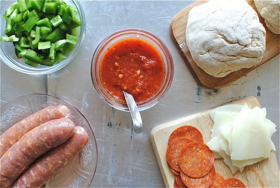 Italian Sausage and Pepperoni Stromboli / Bev Cooks