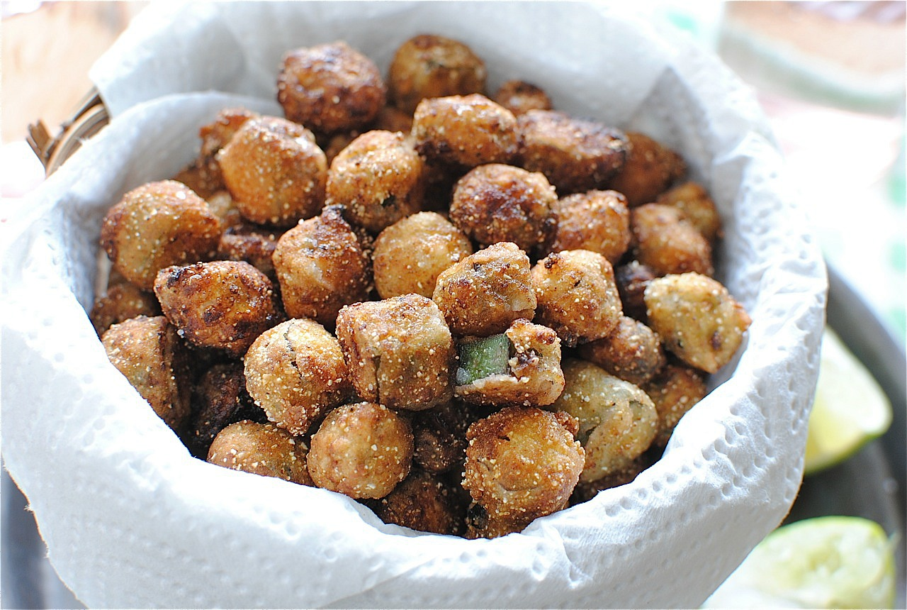 Southern Fried Okra - Bev Cooks