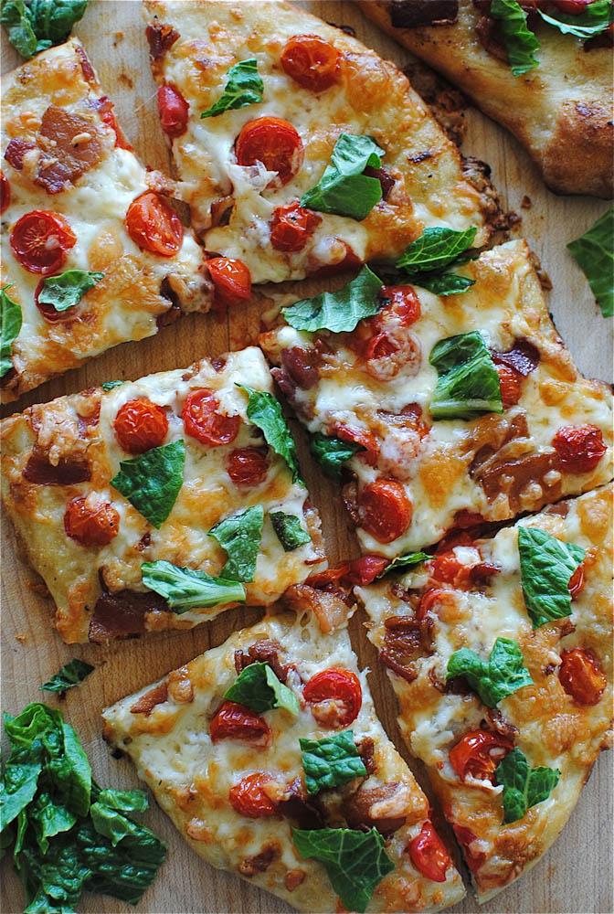 Рецепт пиццы карбонара в домашних условиях