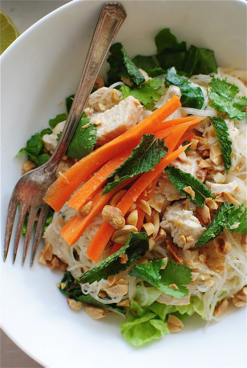 Sesame And Cilantro Vermicelli Salad Recipes — Dishmaps