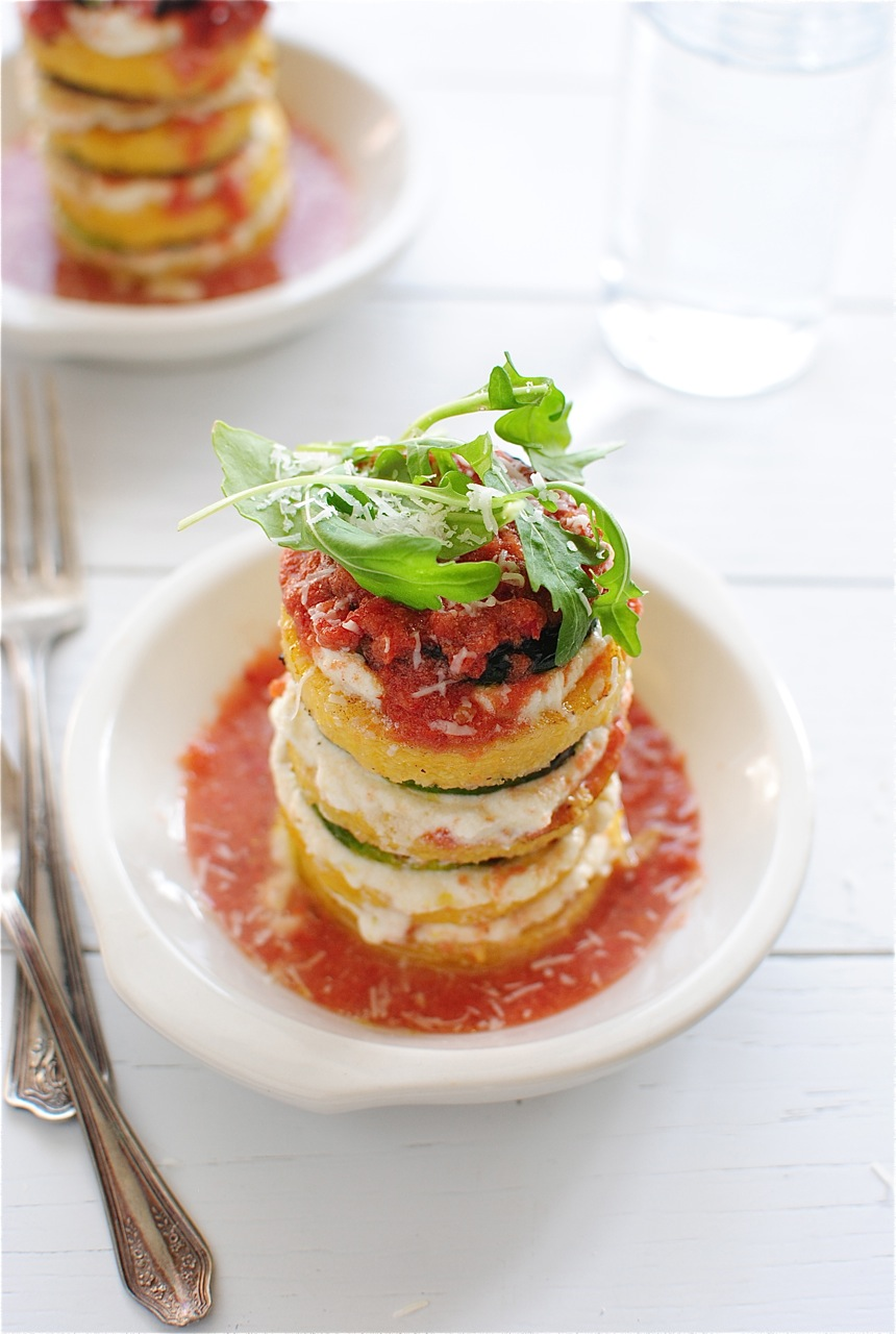 polenta vegetable polenta stack polenta veggie stacks enlarge the