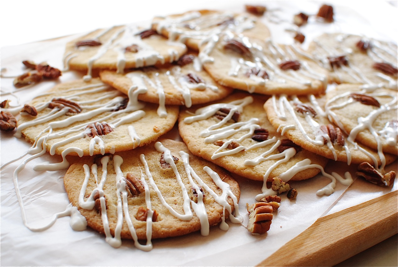 Butter Pecan Cookies Recipe — Dishmaps