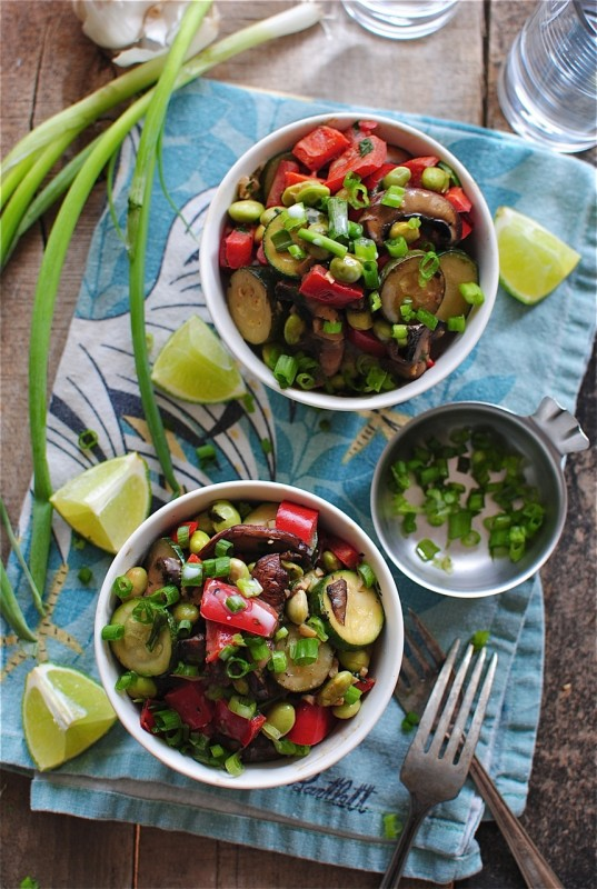 Vegetarian Coconut Rice Bowls / Bev Cooks