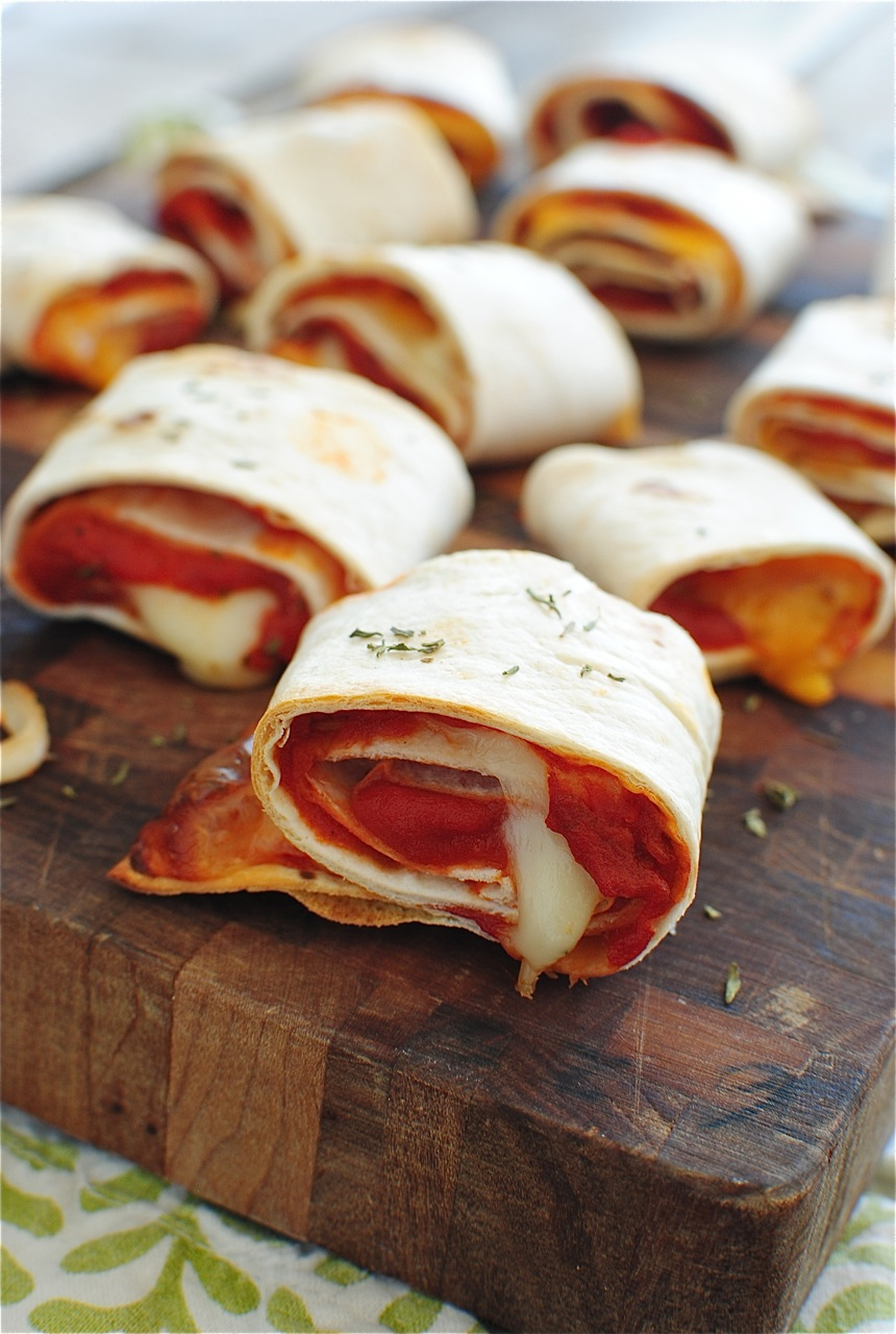 Easy Homemade Pizza Rolls - Bev Cooks
