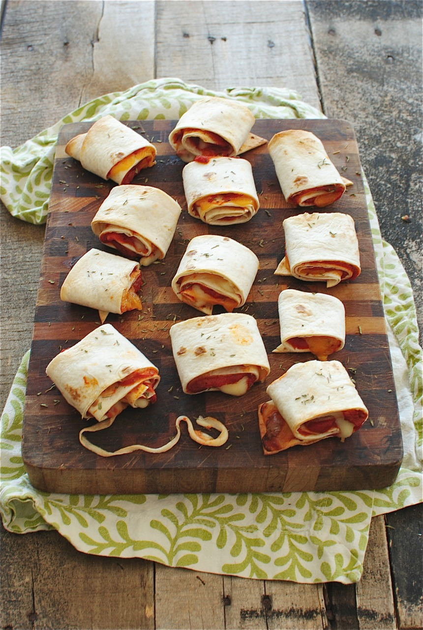 Easy Homemade Pizza Rolls | Bev Cooks