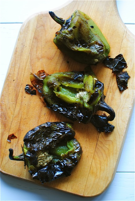 recipe: roasted green bell pepper sauce