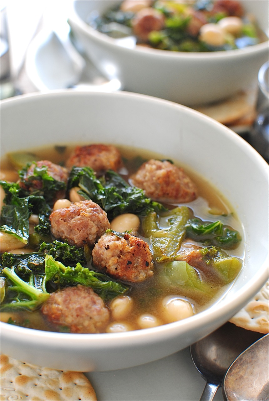Turkey Sausage, Kale And White Bean Soup Recipes — Dishmaps