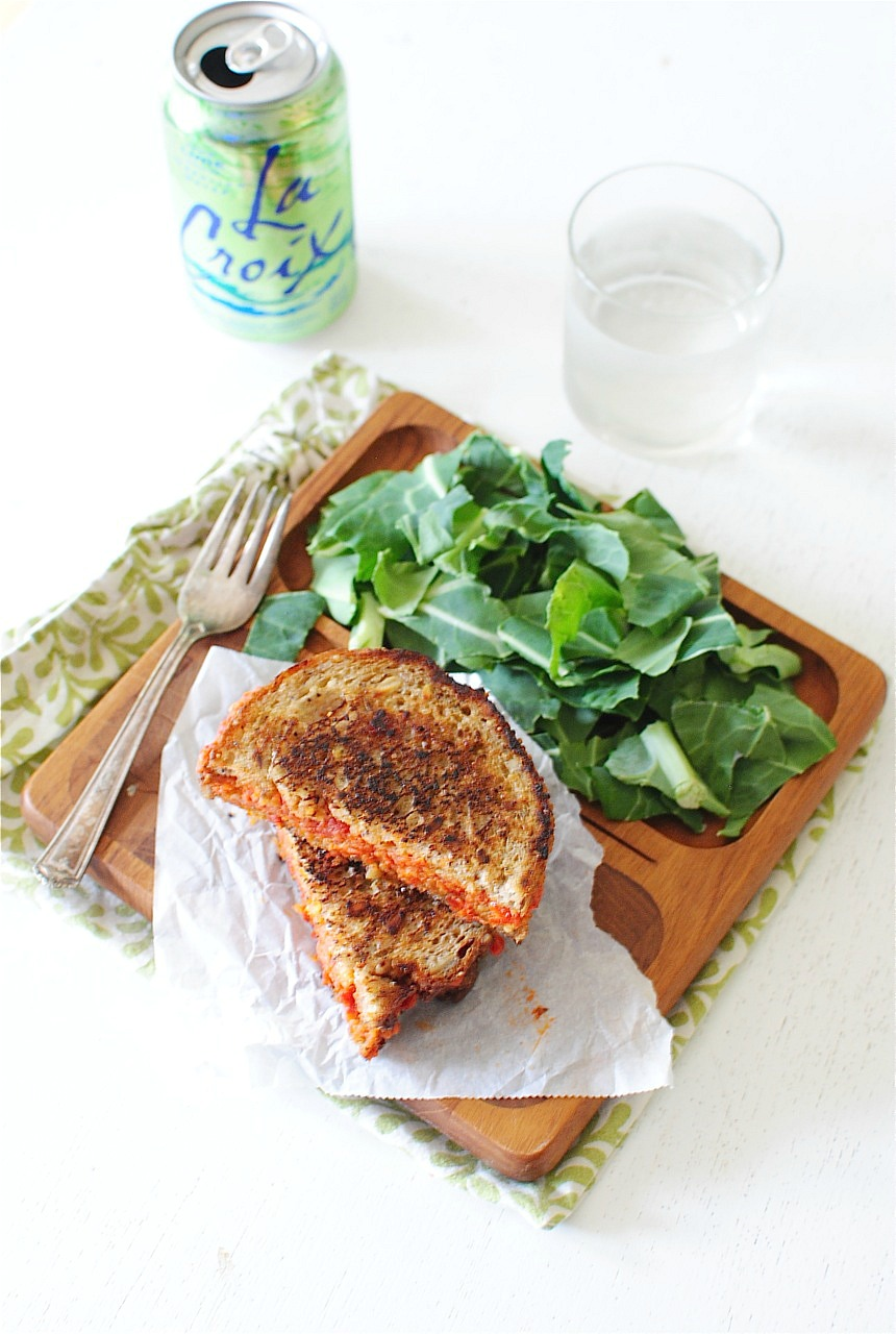 Sun-Dried Tomato and Mascarpone Grilled Cheese Sandwich | Bev Cooks