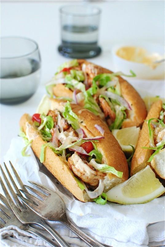 Simple Spicy Shrimp Rolls