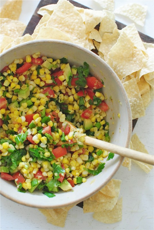 Simple Corn Salsa