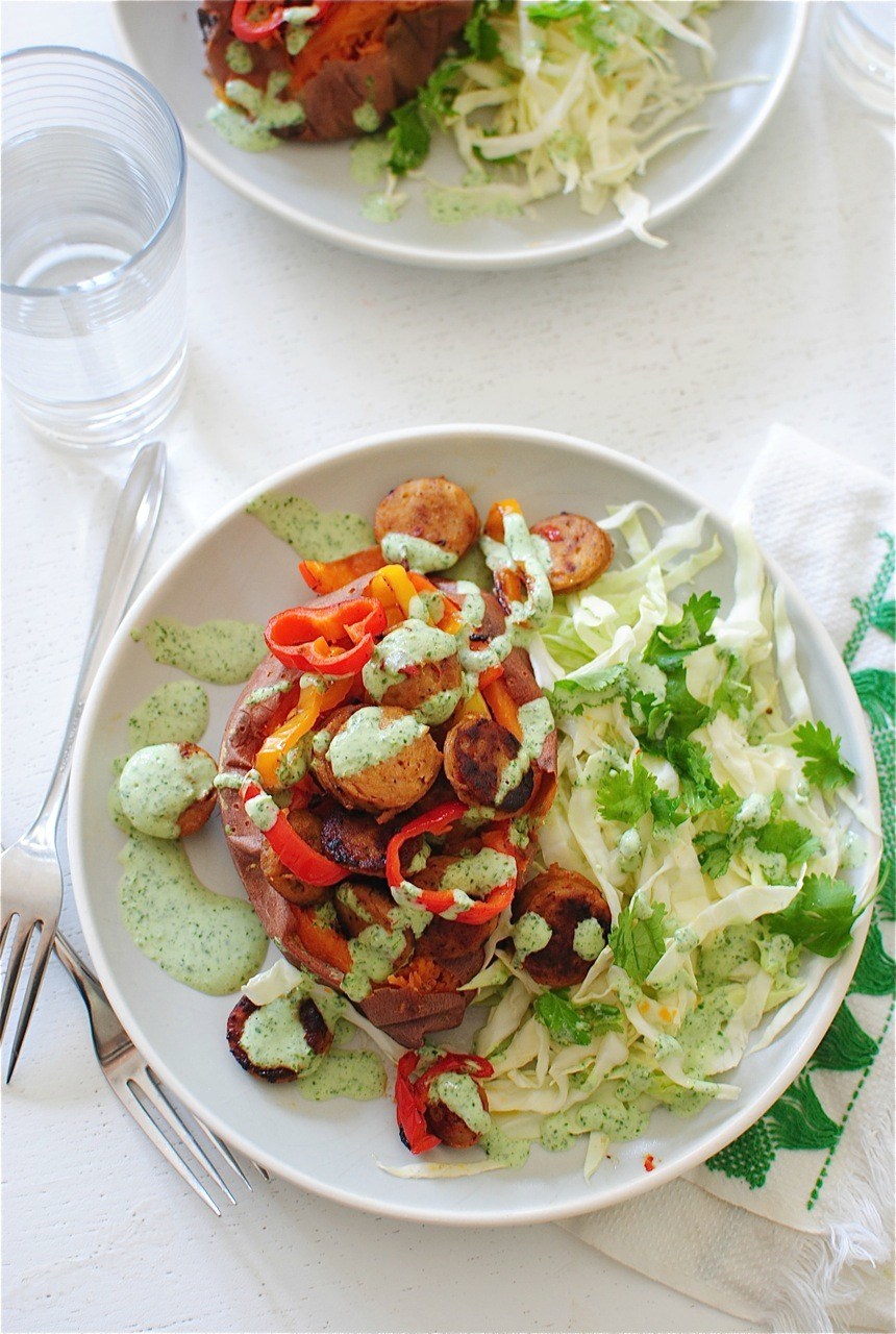 with the cilantro sauce garnish with extra cilantro gosh dang