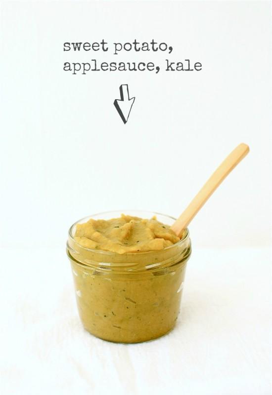 Baby Food Purees / Bev Cooks