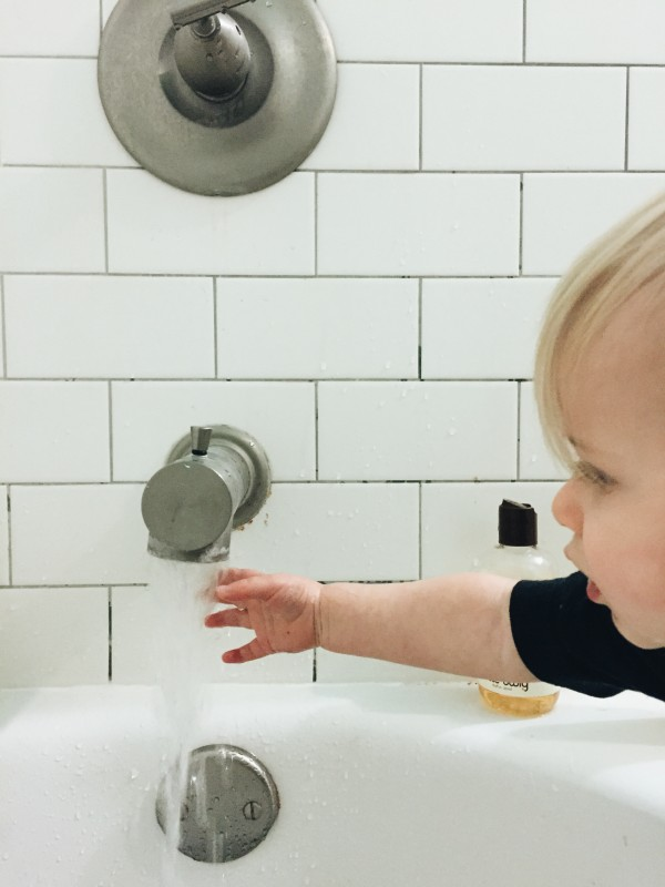 Will testing bath water