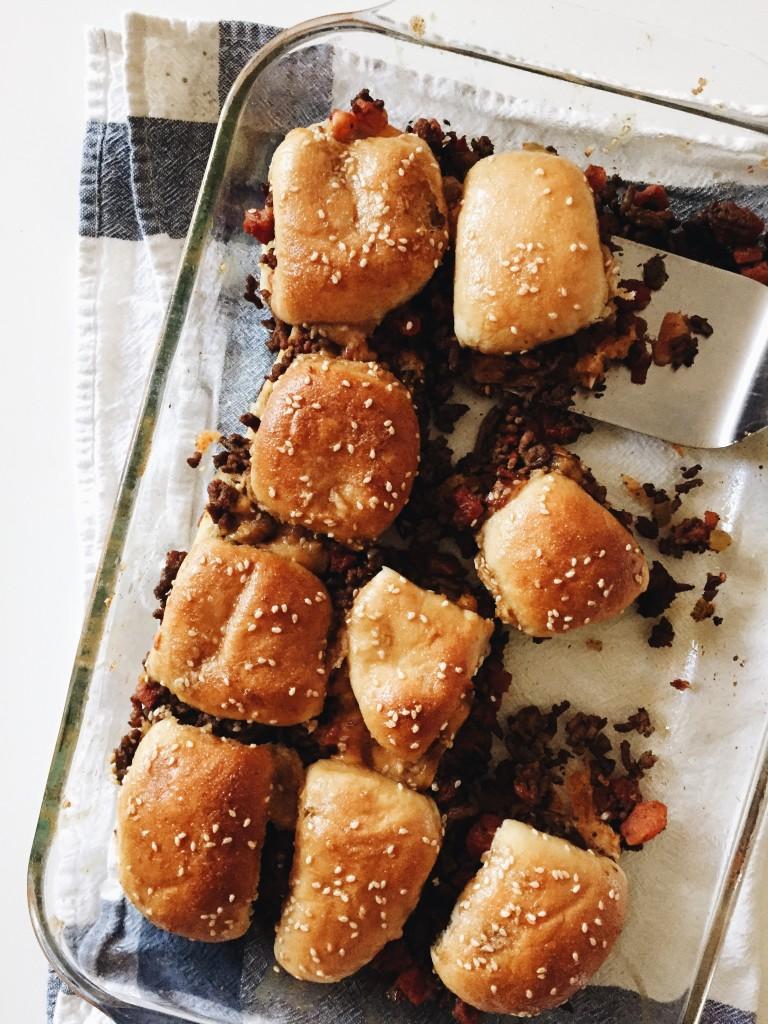 Friday Flotsam - Amanda's Cheesy Party Burgers OMG