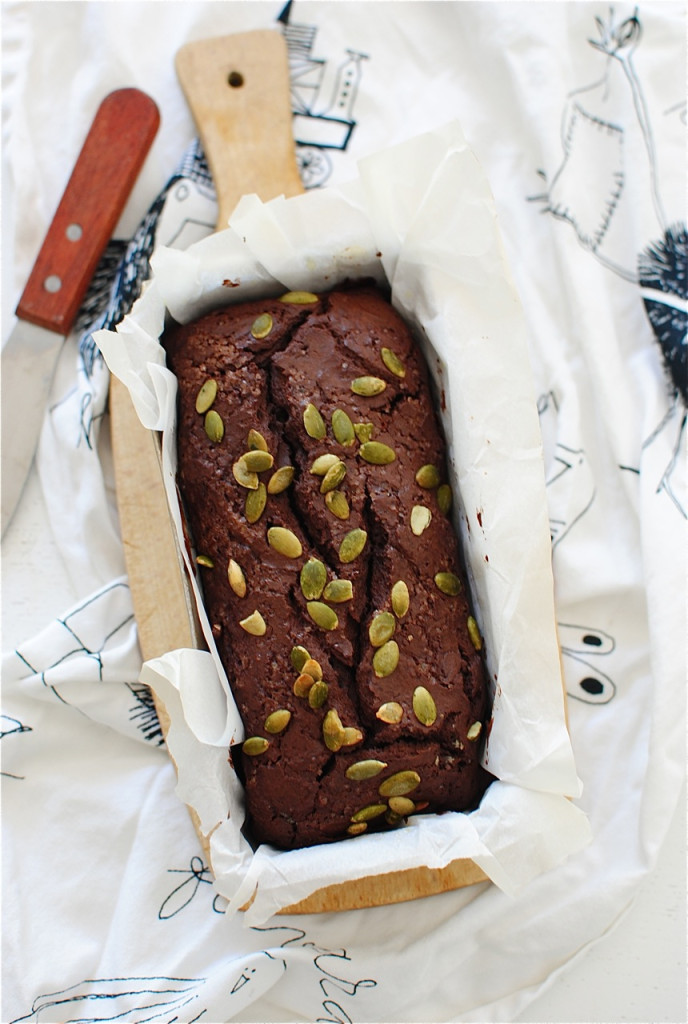 Mini Chocolate Mascarpone Loaf / Bev Cooks