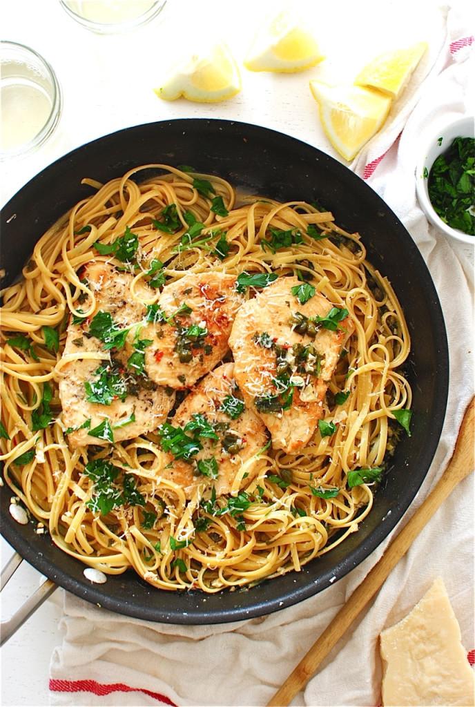 Chicken Piccata / Bev Cooks