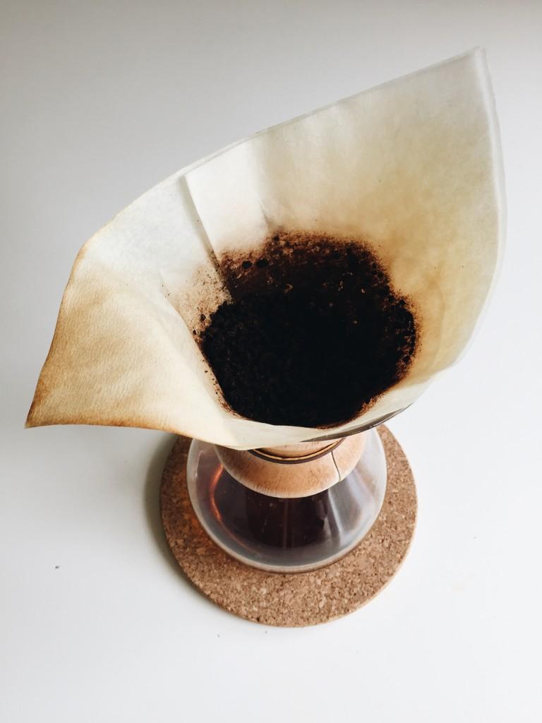 DIY: Coconut Coffee Scrub / Bev Cooks