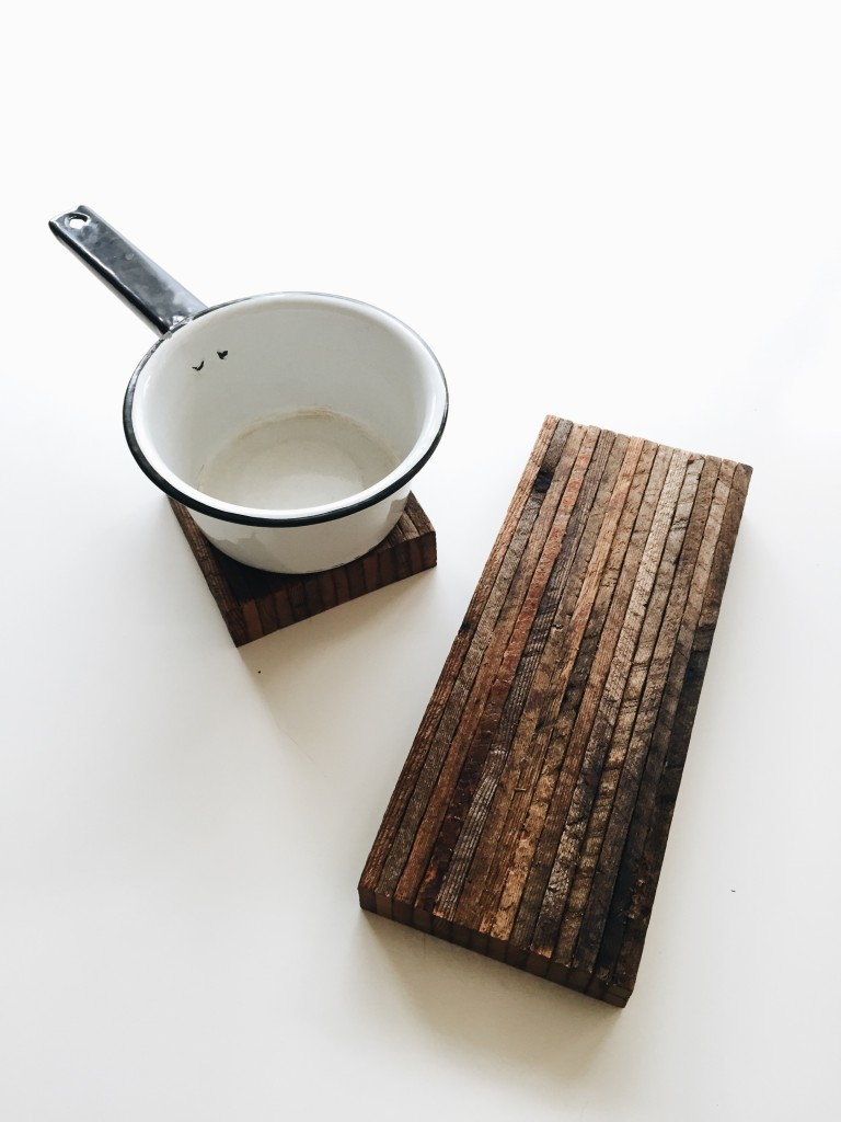 Reclaimed Wood Trivets/Serving Boards  / available on Flotsamist Etsy store