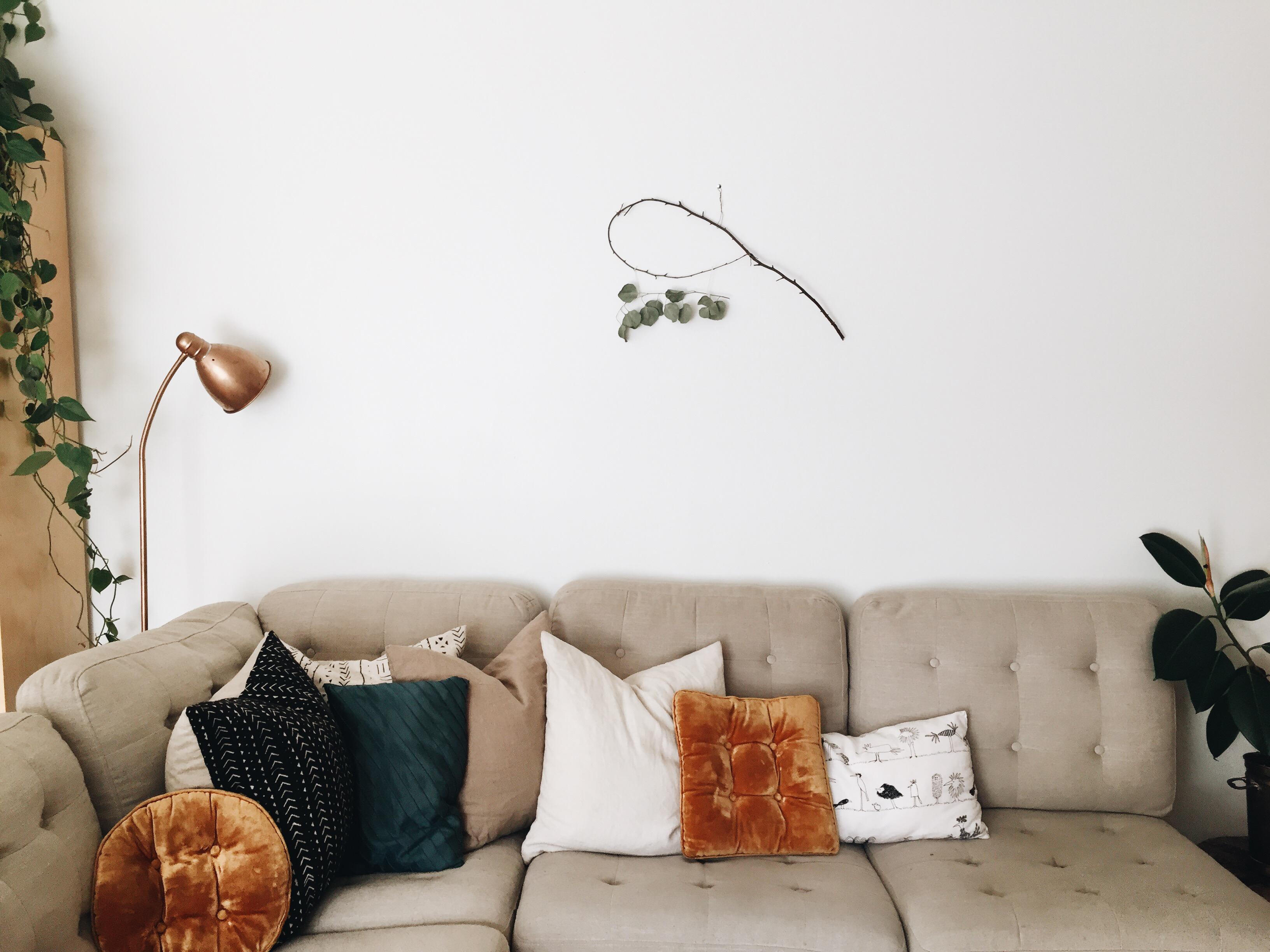 Diy Sage Dream Catcher And Eucalyptus Wreath