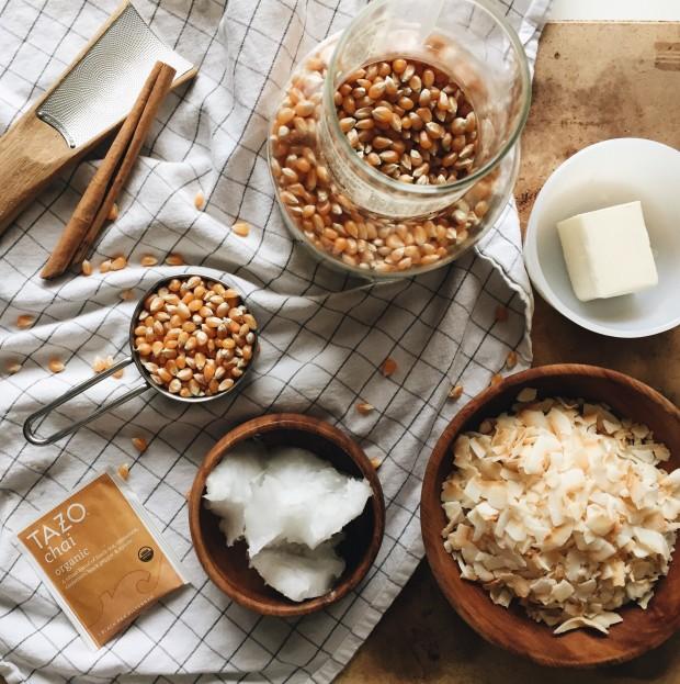 Chai Tea Popcorn / Bev Cooks