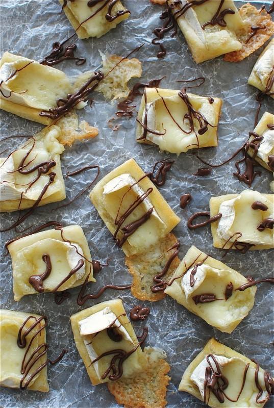 Nutella Brie Bites / Bev Cooks