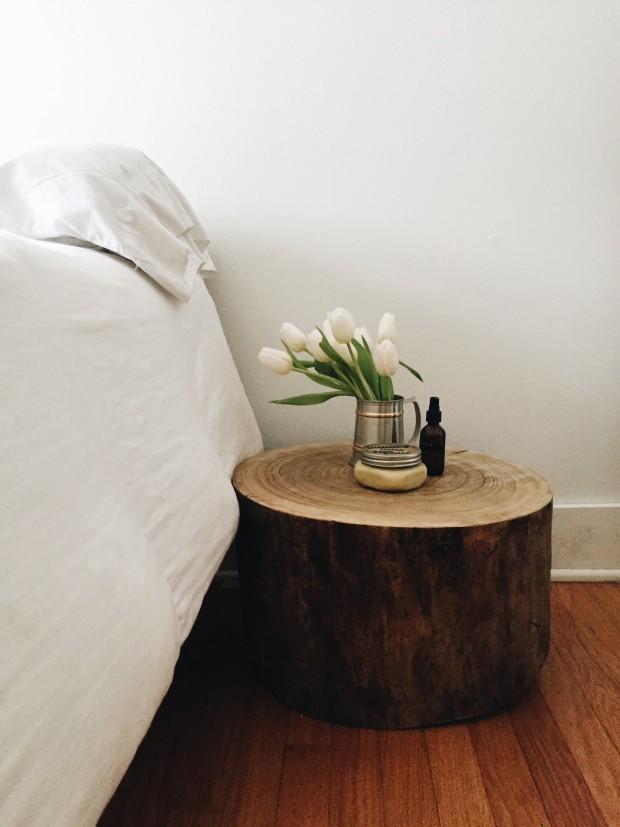 Guestroom Side Table Setting - Friday Flotsam