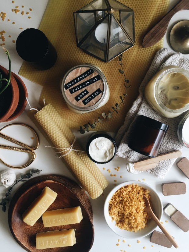 How I Use Beeswax Everyday (Four Recipes!) / Bev Cooks