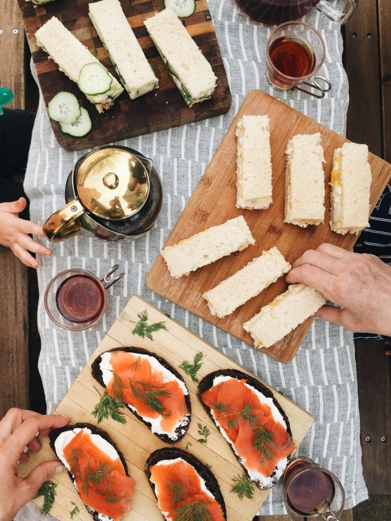 Simple English Tea Party Sandwiches Three Recipes Bev Cooks