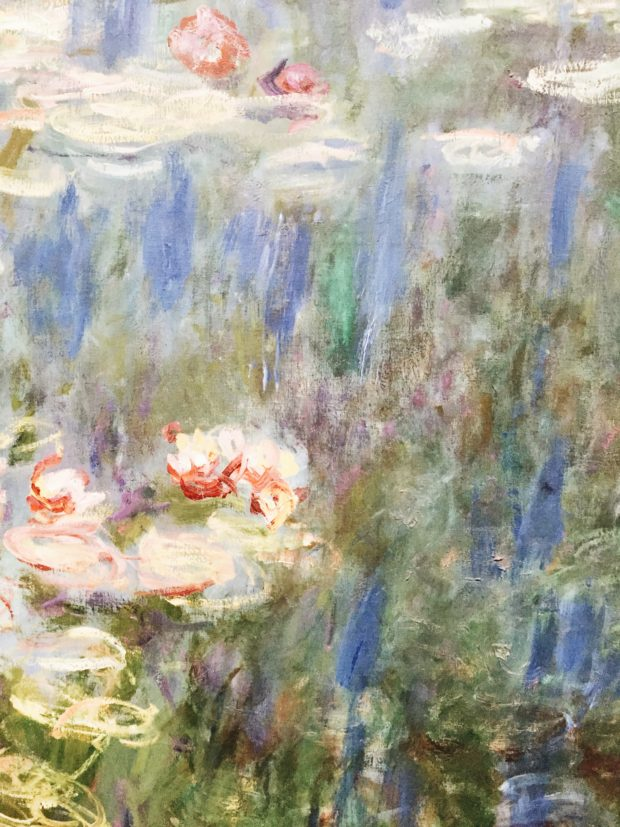 Friday Flotsam - Monet's Water Lilies IN PARIS when I was there. I went to Paris.