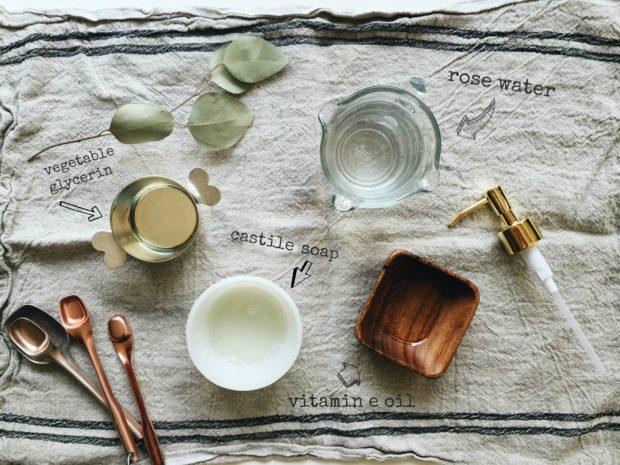 DIY: Rose Water Face Wash / Bev Cooks