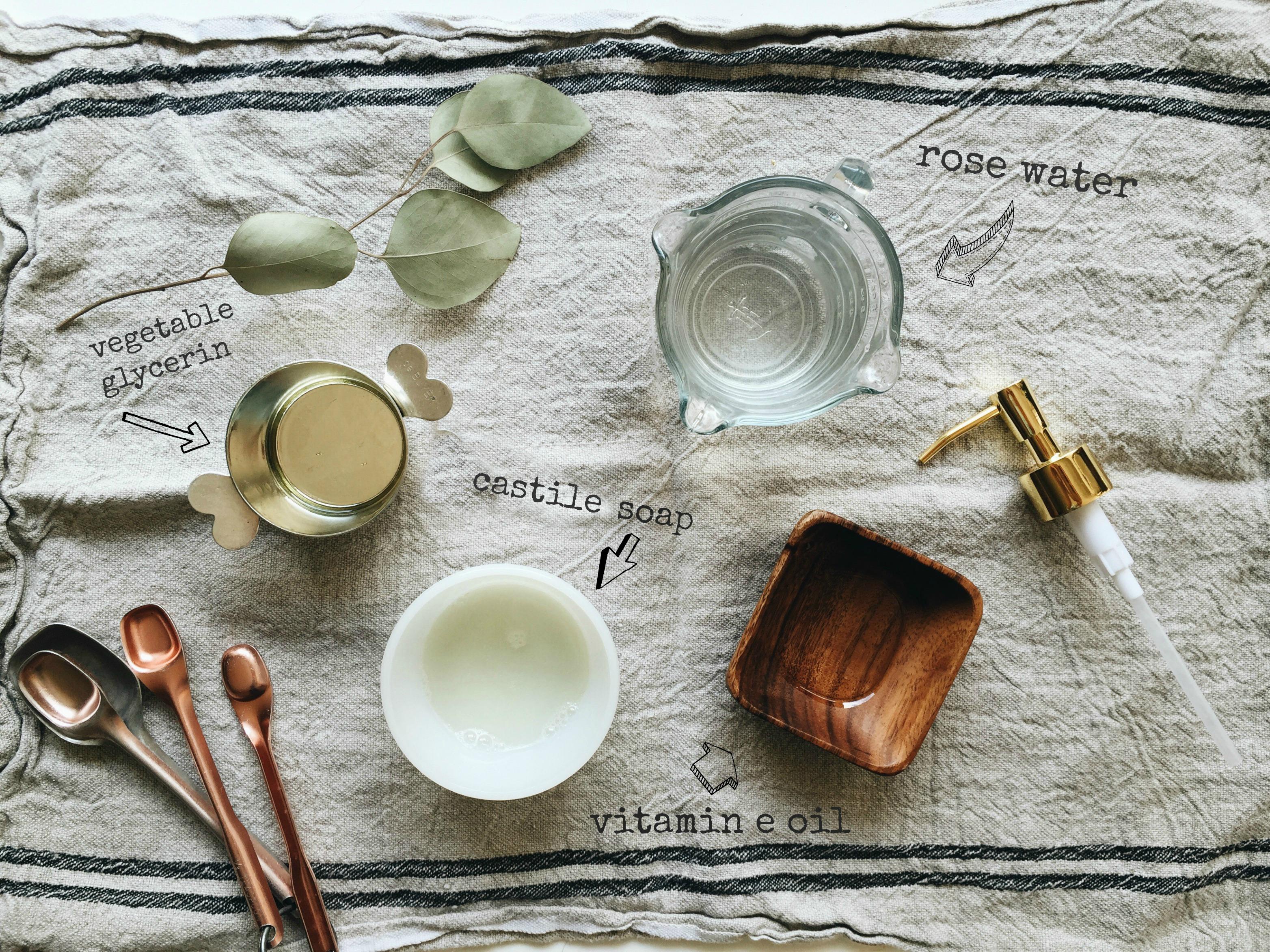 DIY: Rose Water Face Wash | Bev Cooks