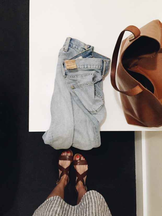 Madewell's Summer Jean - obsessed