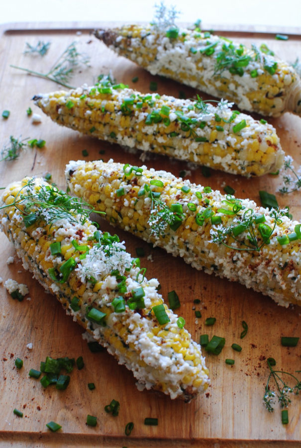 Easiest Mexican Street Corn / Bev Cooks