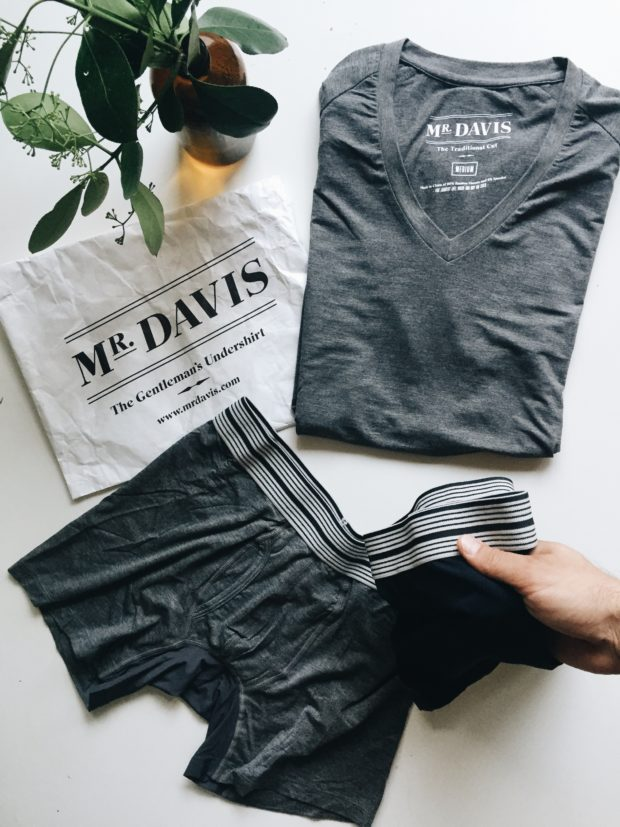 Mr. Davis Undershirt/Underwear Father's Day Giveaway