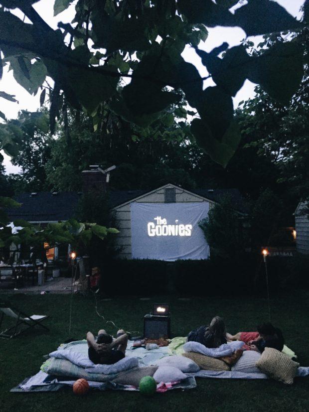 Backyard Movie Night!